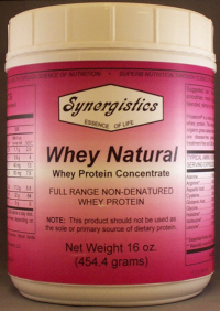 Whey Natural (16 oz.)